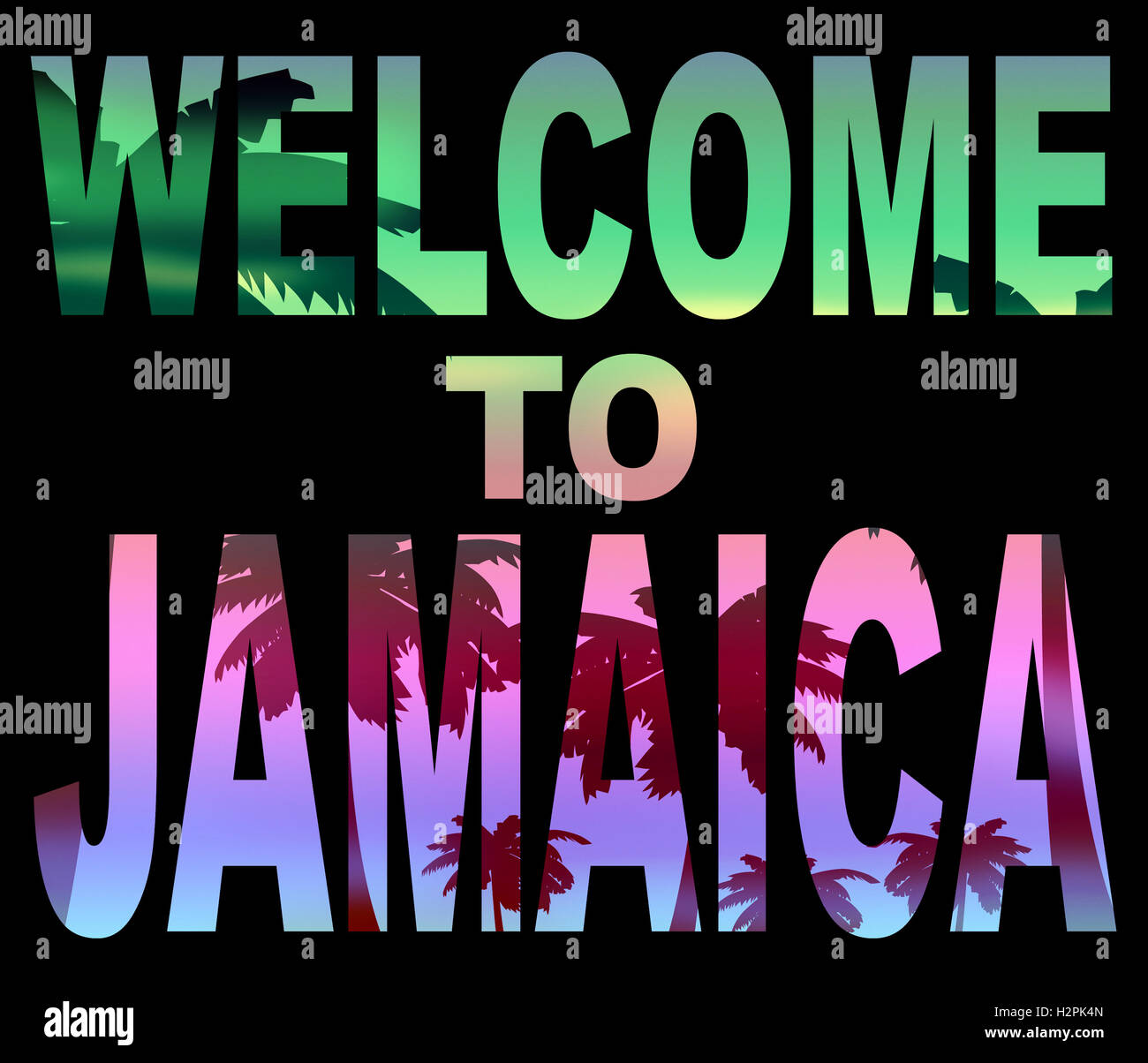 Welcome To Jamaica Stock Photos Welcome To Jamaica Stock Images