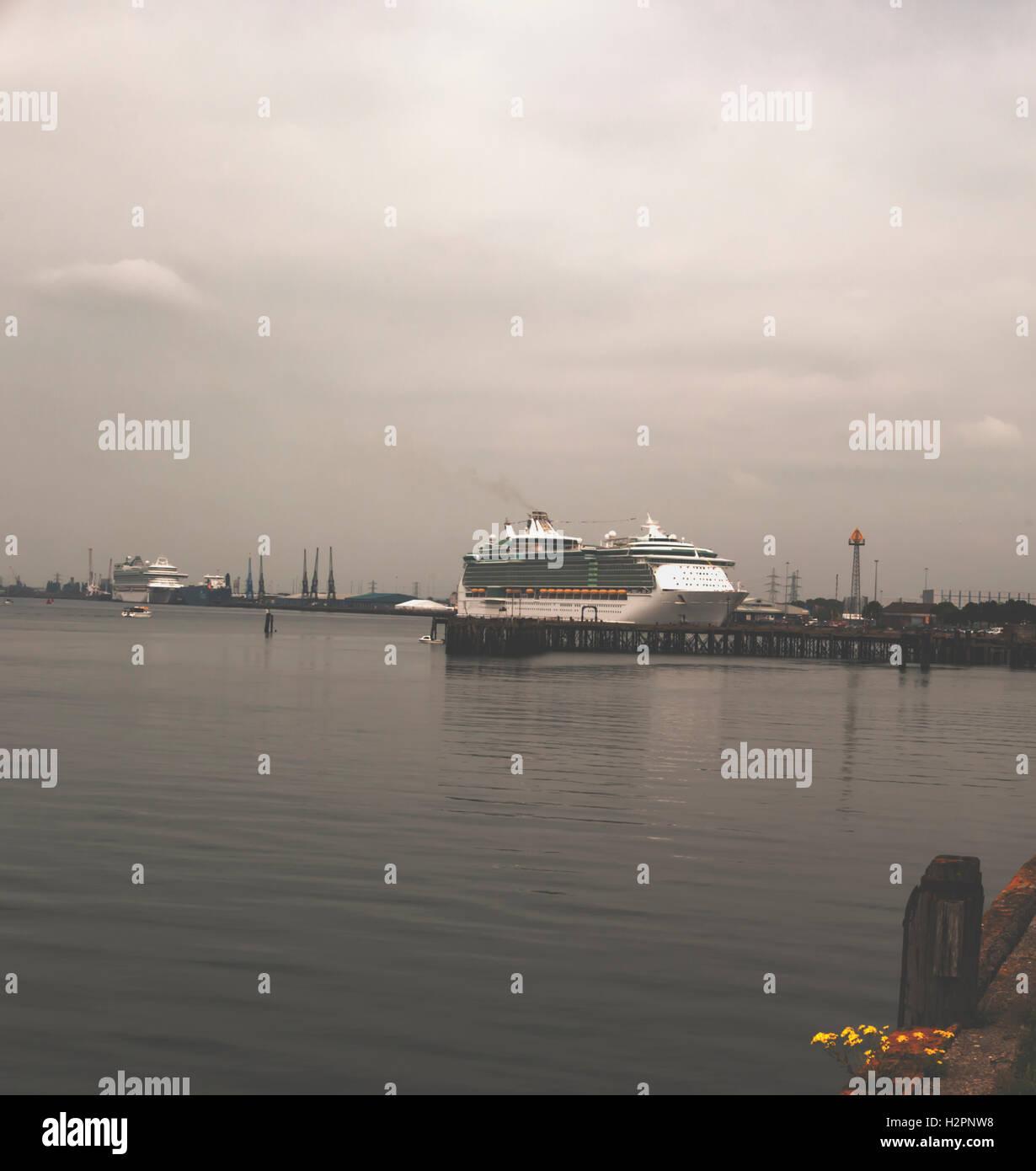 Southampton Port - Stock Image