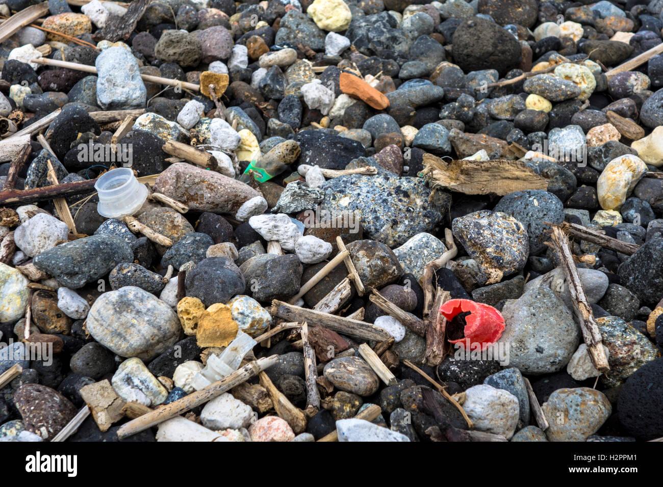 flotsam and jetsam - Stock Image