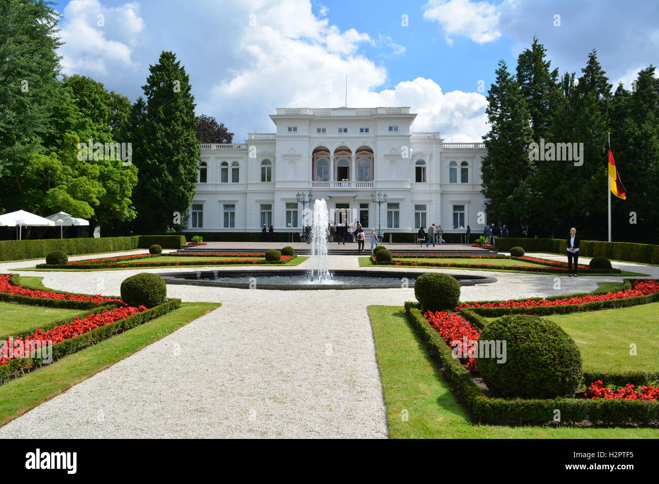 Bonn, Germany, Villa Hammerschmidt - Stock Image
