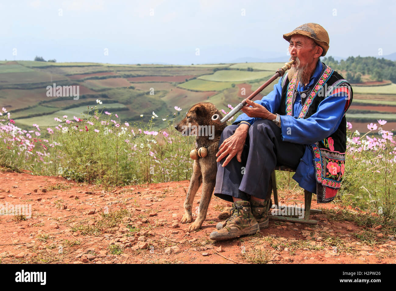 dongchuan-china-september-27-2016-an-old