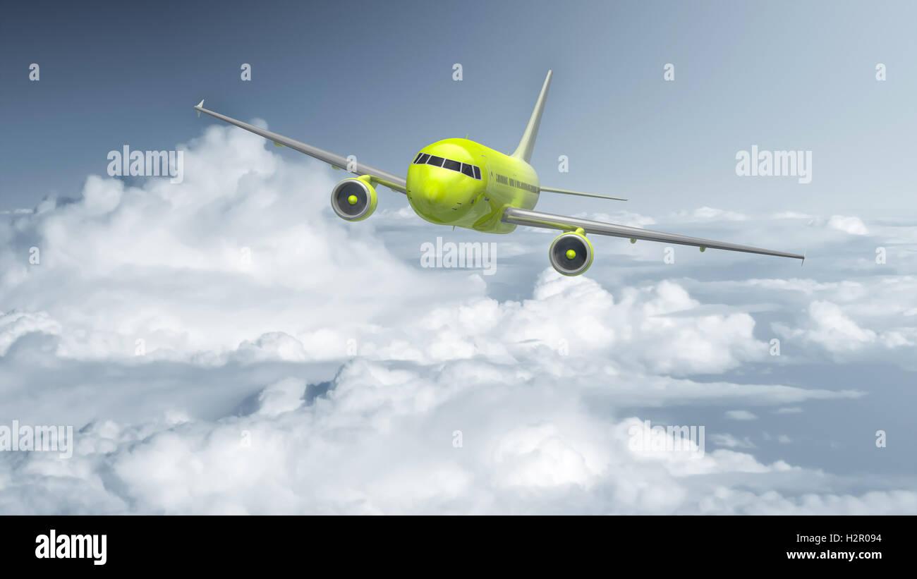 Airplane - Stock Image