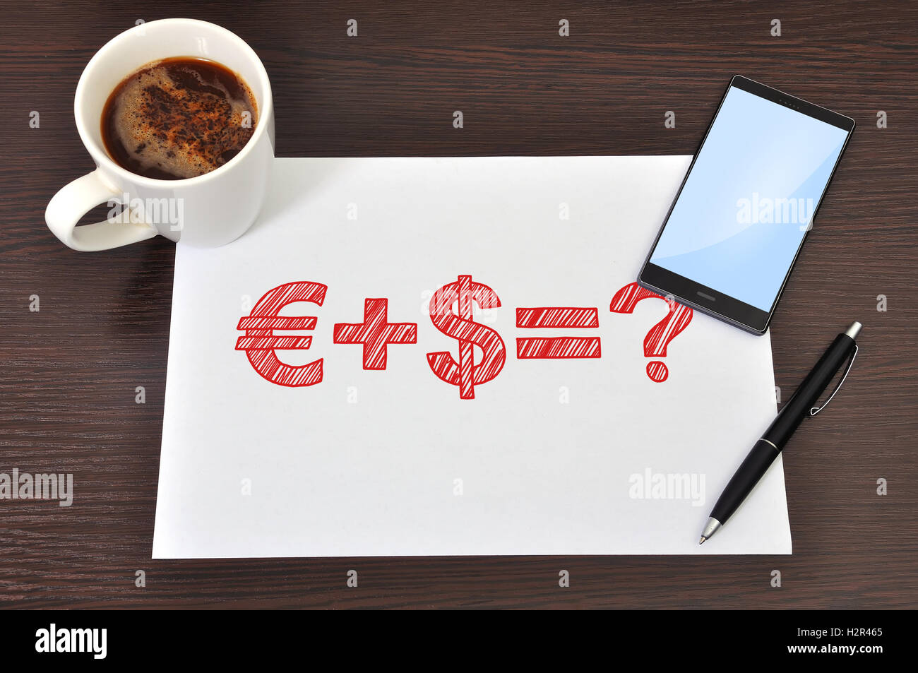 business formula - Stock Image