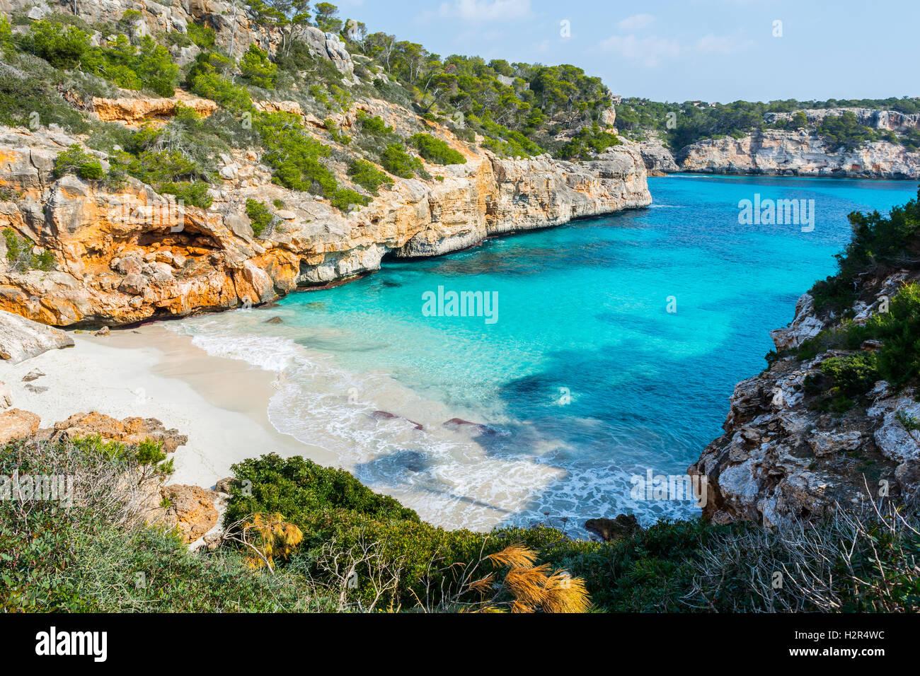 Calo des Moro, Majorca - Stock Image