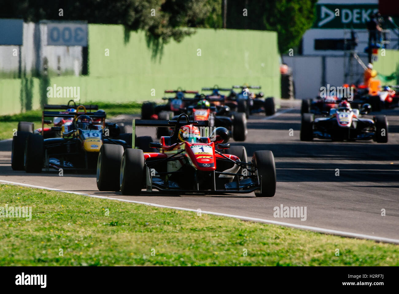 Imola Italy 01st Oct 2016 Prema Powerteam S Driver Lance Stroll Stock Photo Alamy