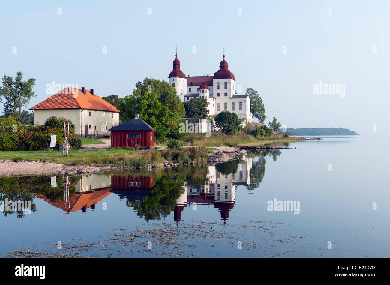 Läckö Castle, Sweden - Stock Image