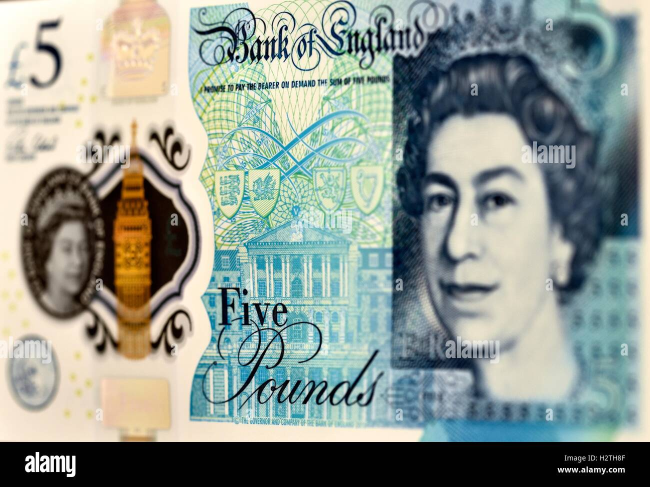 Five Pound Note - Stock Image