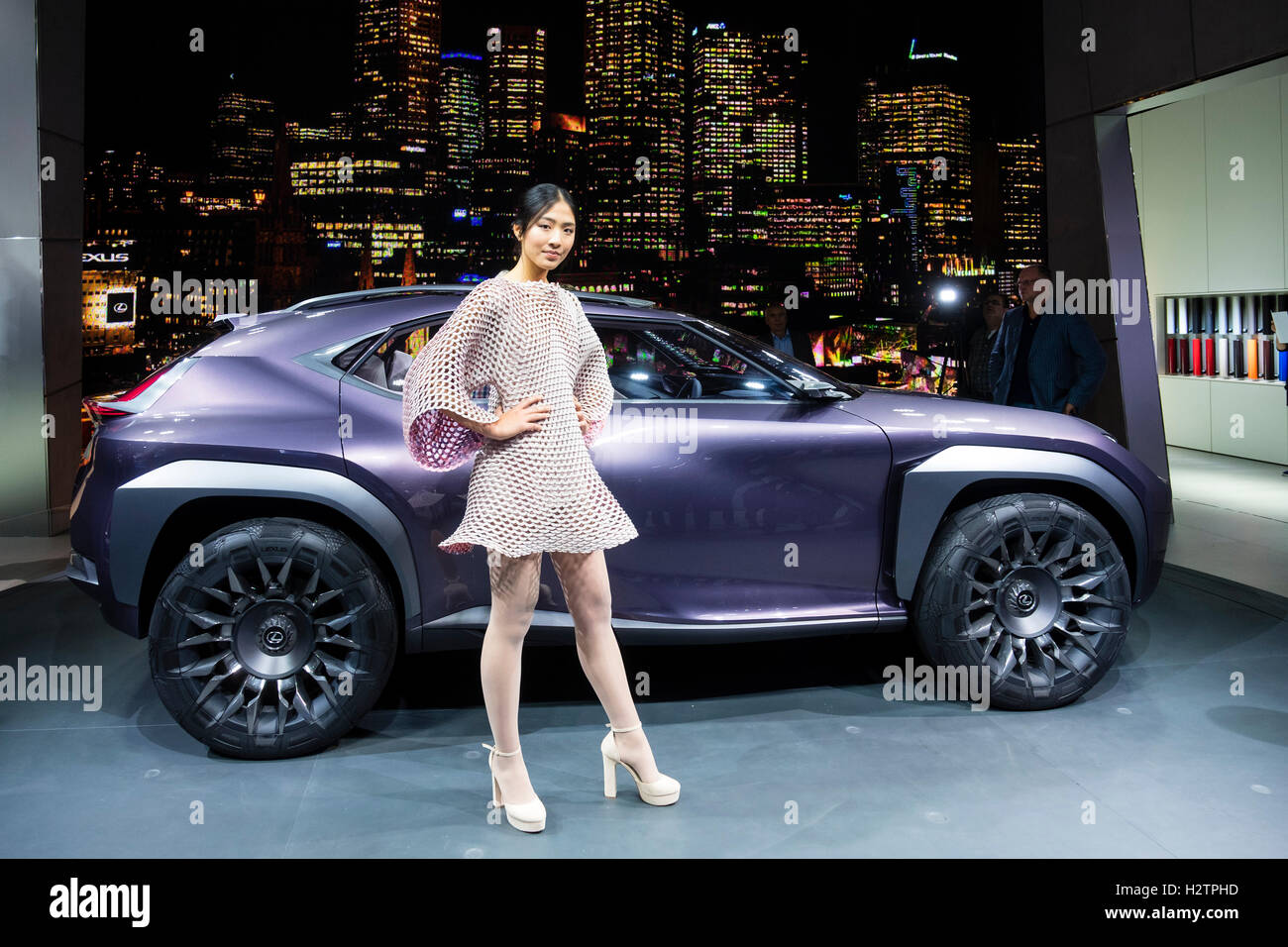 https://c8.alamy.com/comp/H2TPHD/lexus-ux-concept-crossover-vehicle-at-world-premiere-at-paris-motor-H2TPHD.jpg
