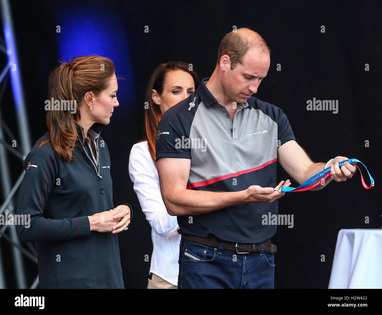 b8dd9f03 Prince William wears a pair of Diesel jeans at America's Cup World Series  in Portsmouth Featuring