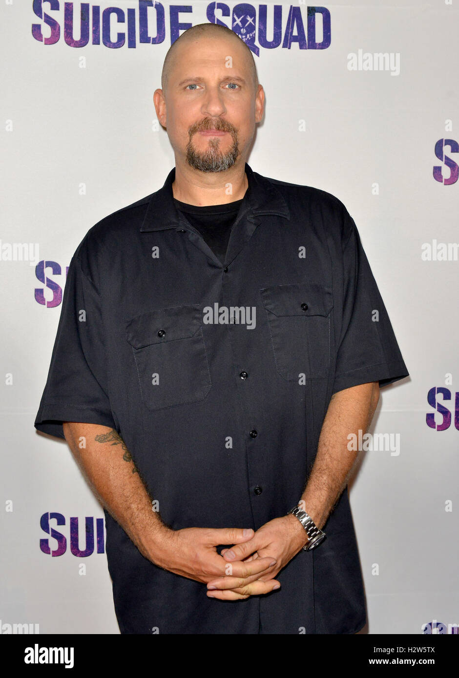 Suicide Squad' Wynwood Block Party and Mural Reveal in Miami, Florida  Featuring: David Ayer Where: Miami, Florida, - Stock Image