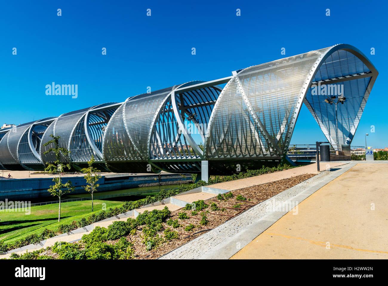 Arganzuela Bridge - Stock Image