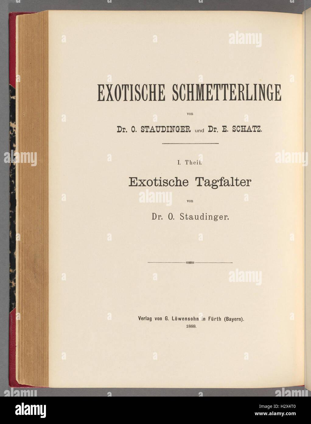 Exotische schmetterlinge BHL400 - Stock Image
