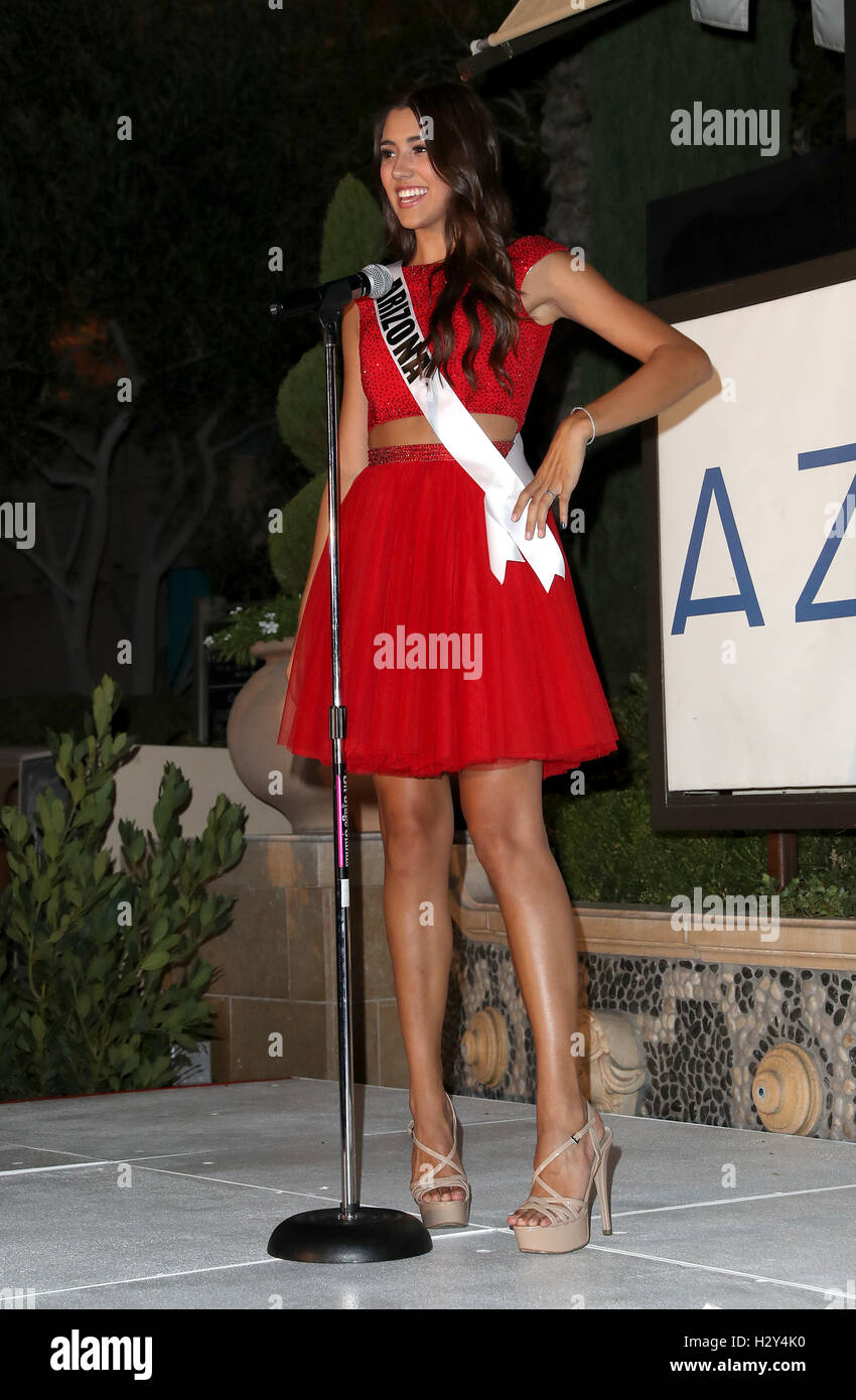 2016 Miss Teen USA at Azure Pool Inside The Palazzo - Runway Featuring: Miss  Teen