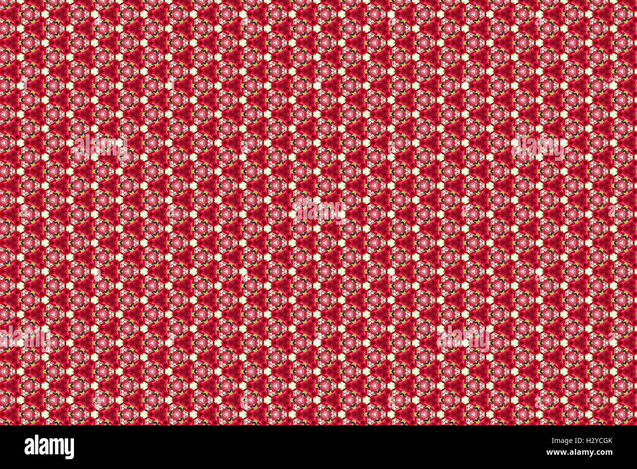 floral pattern wallpaper background - Stock Image