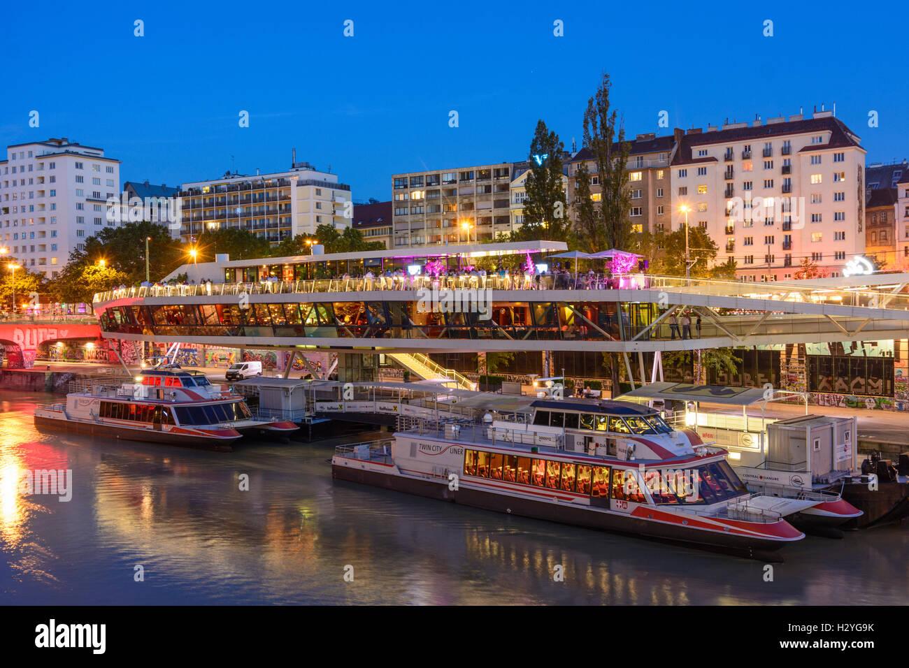 Danube Canal Tour
