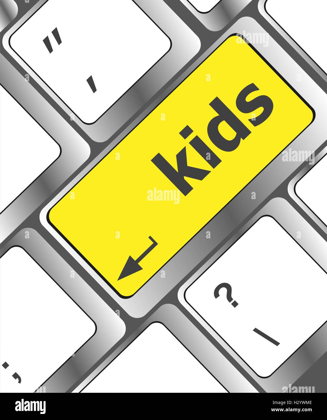Child Computer Game Design Stock Photos Child Computer Game Design - Computer game design for kids