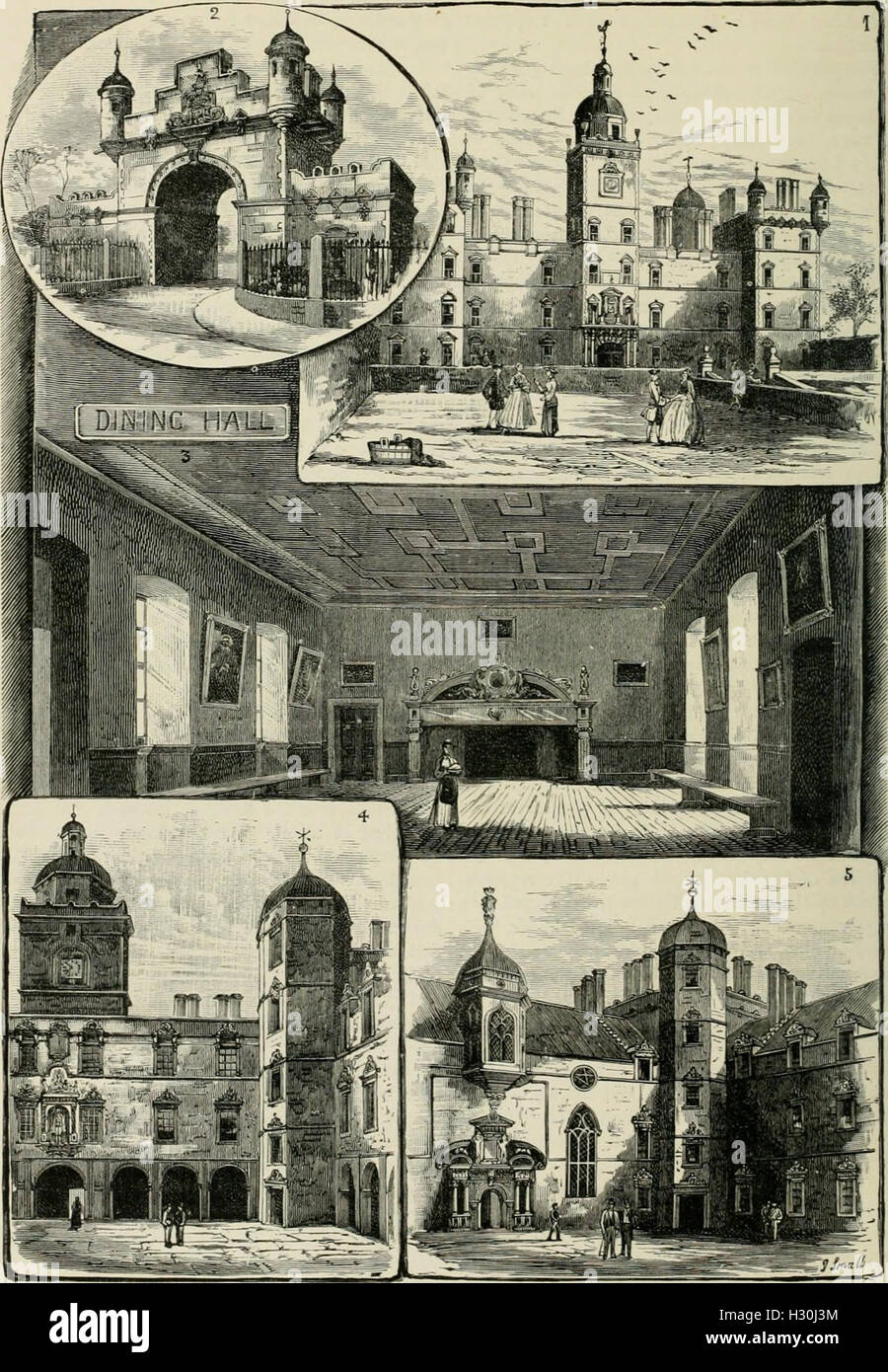 Cassell's Old and new Edinburgh- its history, its people, and its places (1881) (1459736 Stock Photo