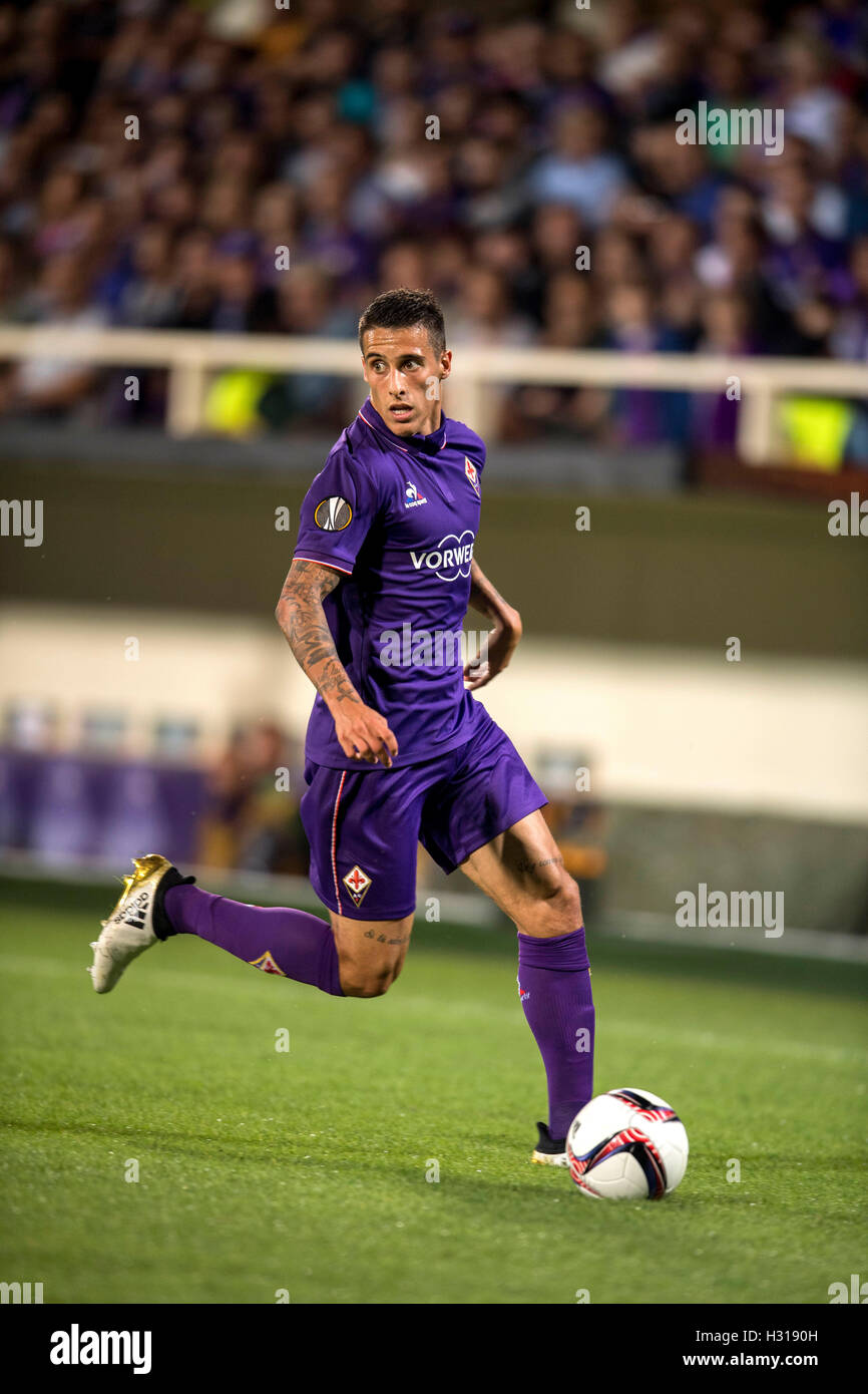 Cristian Tello Fiorentina SEPTEMBER 29 2016