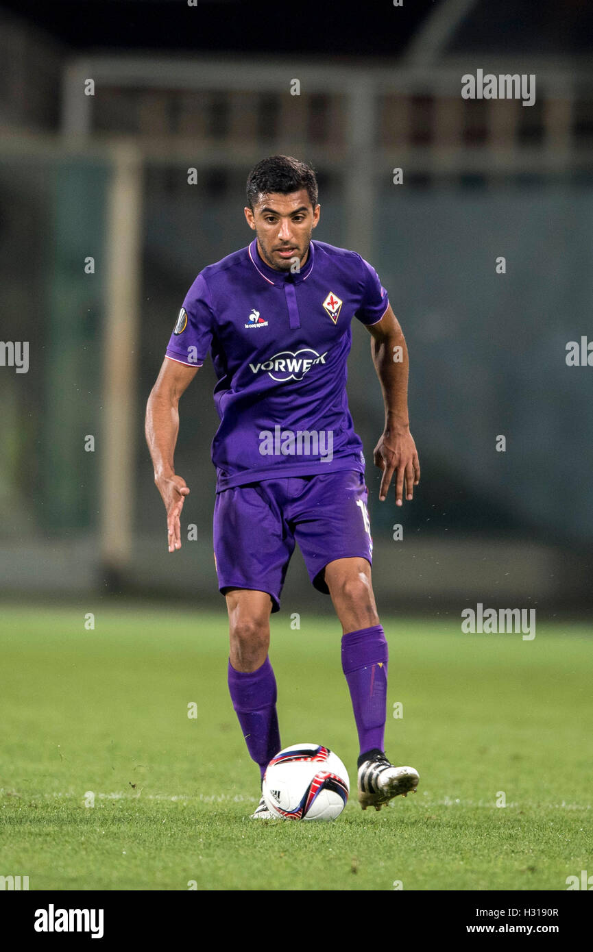 Maximiliano Olivera (Fiorentina), SEPTEMBER 29, 2016 - Football / Soccer : UEFA Europa League Group J match between - Stock Image