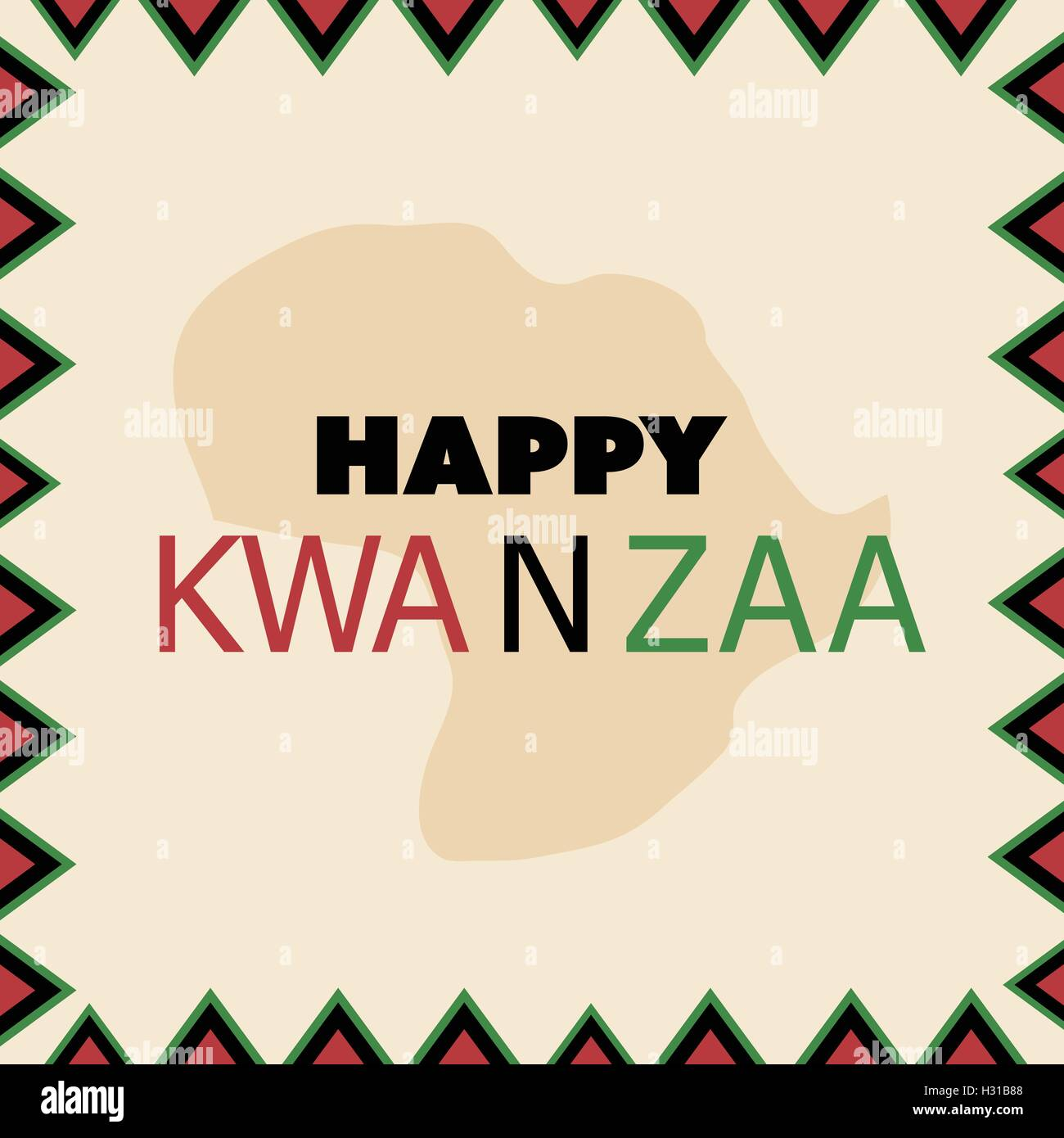 Kwanzaa family stock photos kwanzaa family stock images alamy happy kwanzaa greeting card design template stock image m4hsunfo