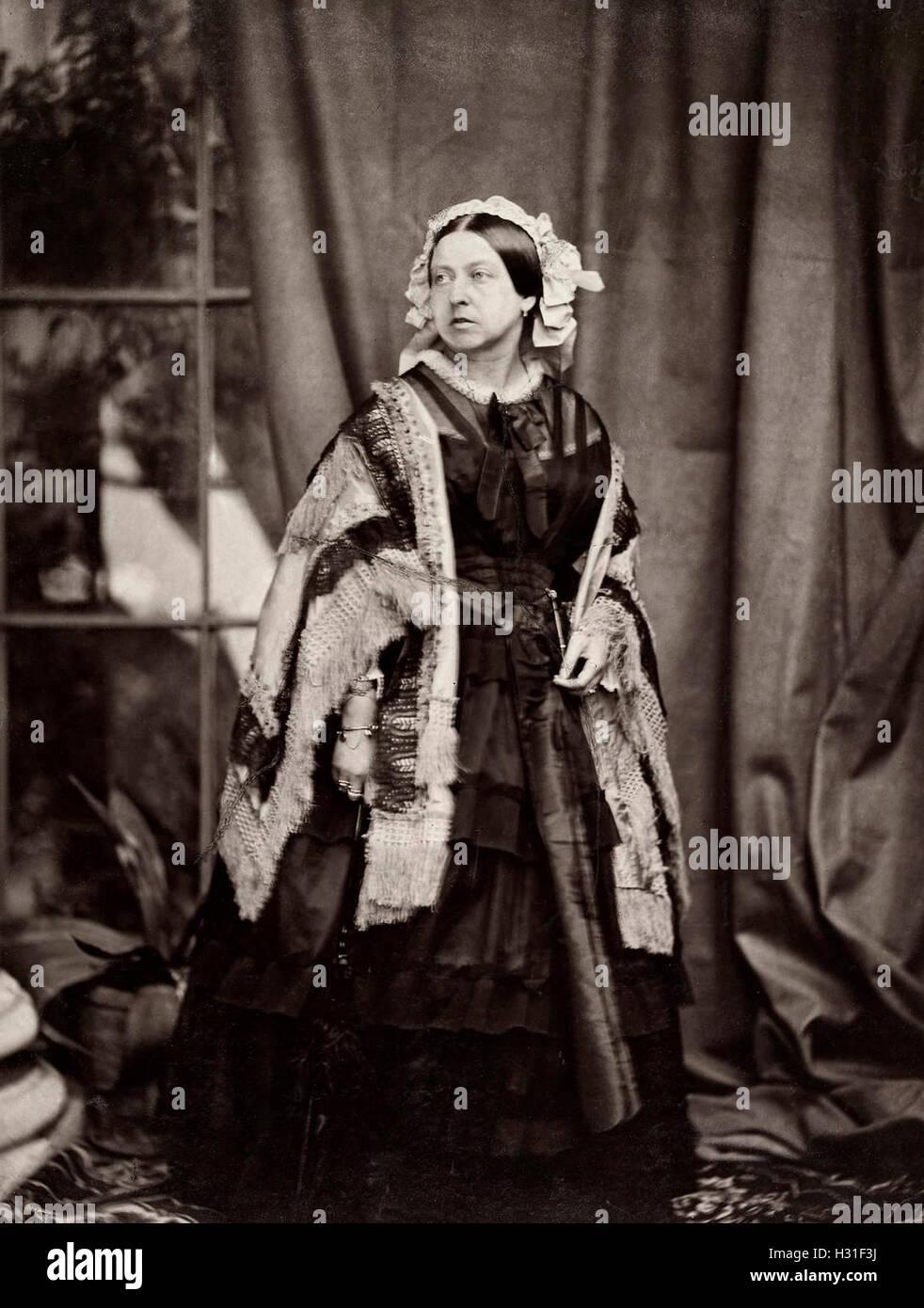 Queen Victoria, circa 1860 - Stock Image