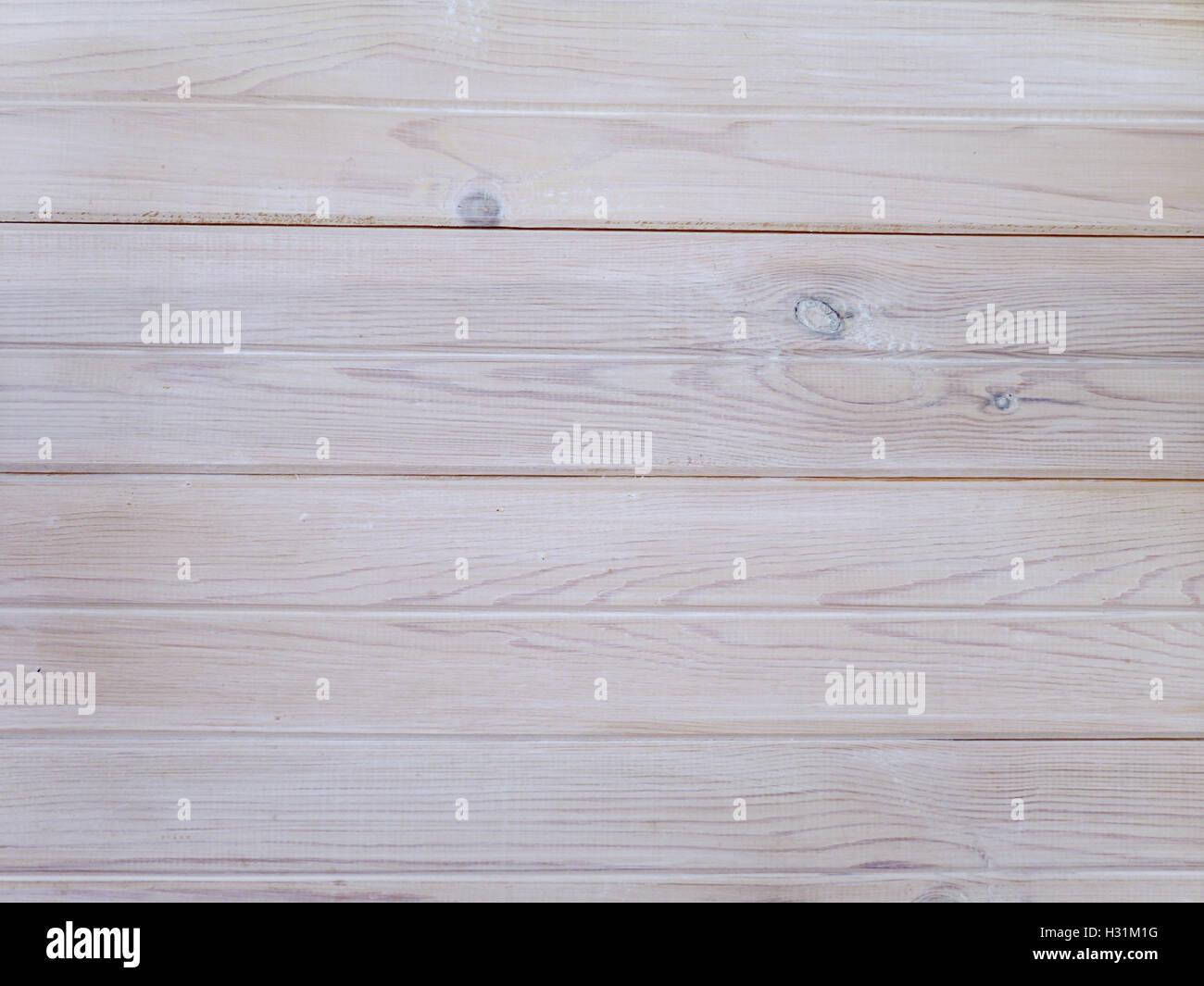 White planks background - Stock Image