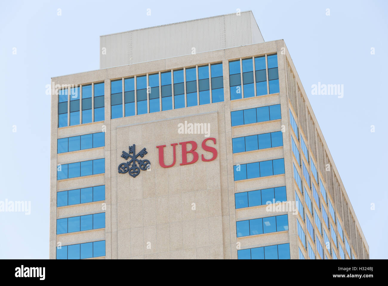 UBS Tower in Nashville, Tennessee. - Stock Image