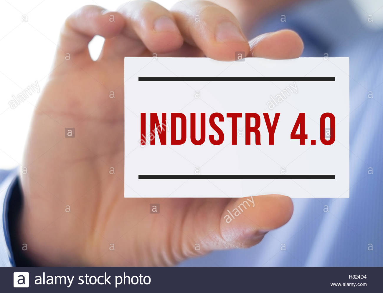 industry 4.0 - Stock Image