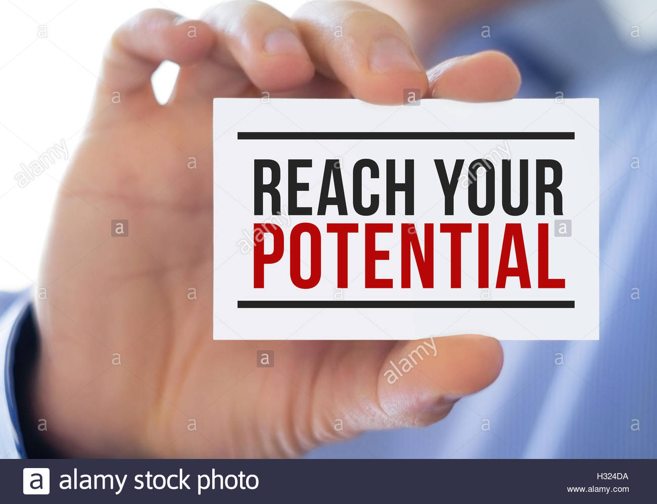 reach your potential - Stock Image