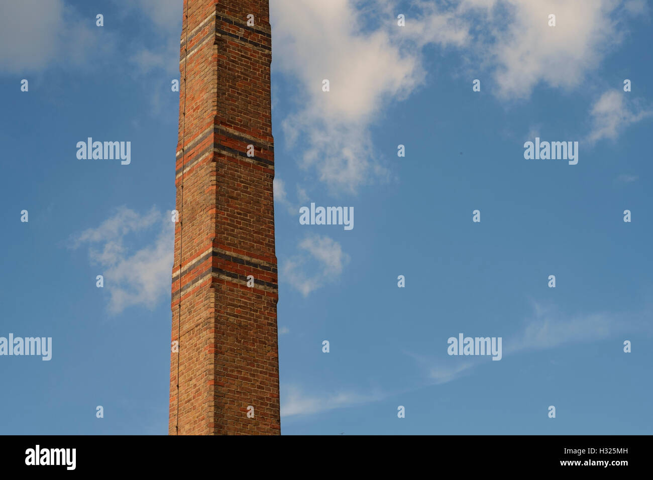 The chimney tower at Cox's Yard Stratford-on-Avon - Stock Image