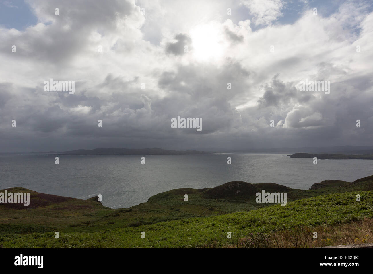 Dunfanaghy Bay from Horn Head, County Donegal, Ireland Stock Photo