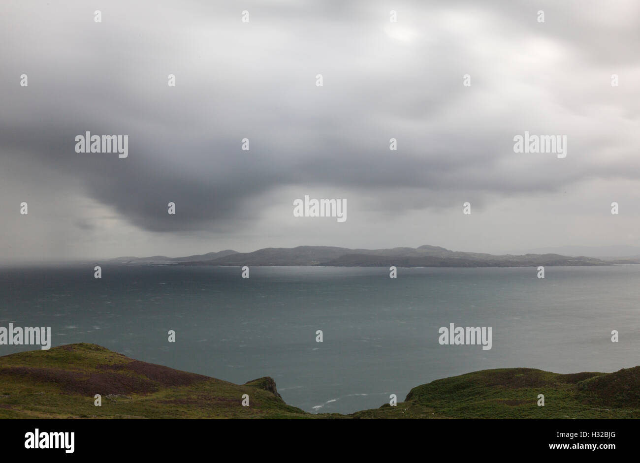 Dunfanaghy Bay from Horn Head, County Donegal, Ireland - Stock Image