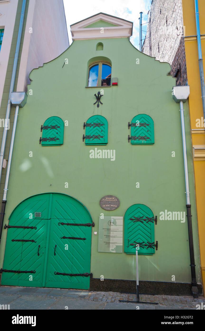 Tony Halik explorers museum, old town, Torun, Pomerania, Poland - Stock Image
