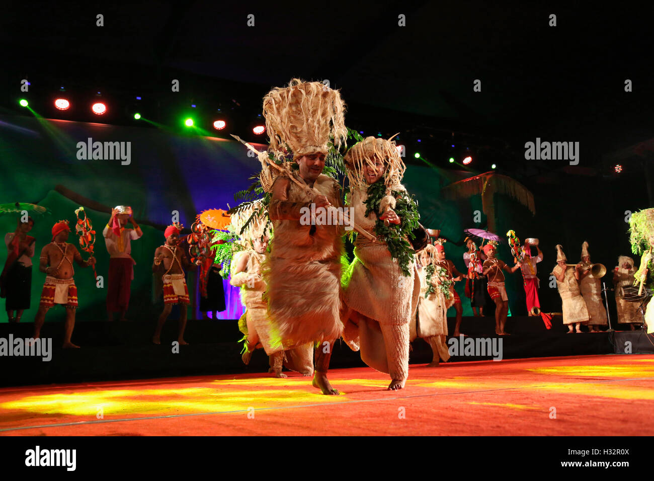 Folk Dance, Himachal Pradesh, India - Stock Image
