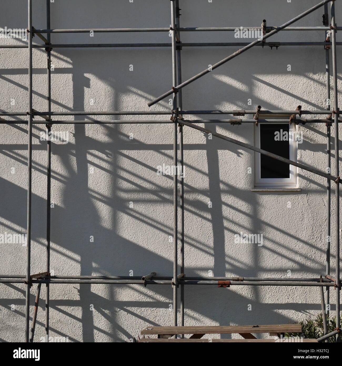 Scaffolding Shadows Stock Photos & Scaffolding Shadows Stock Images ...