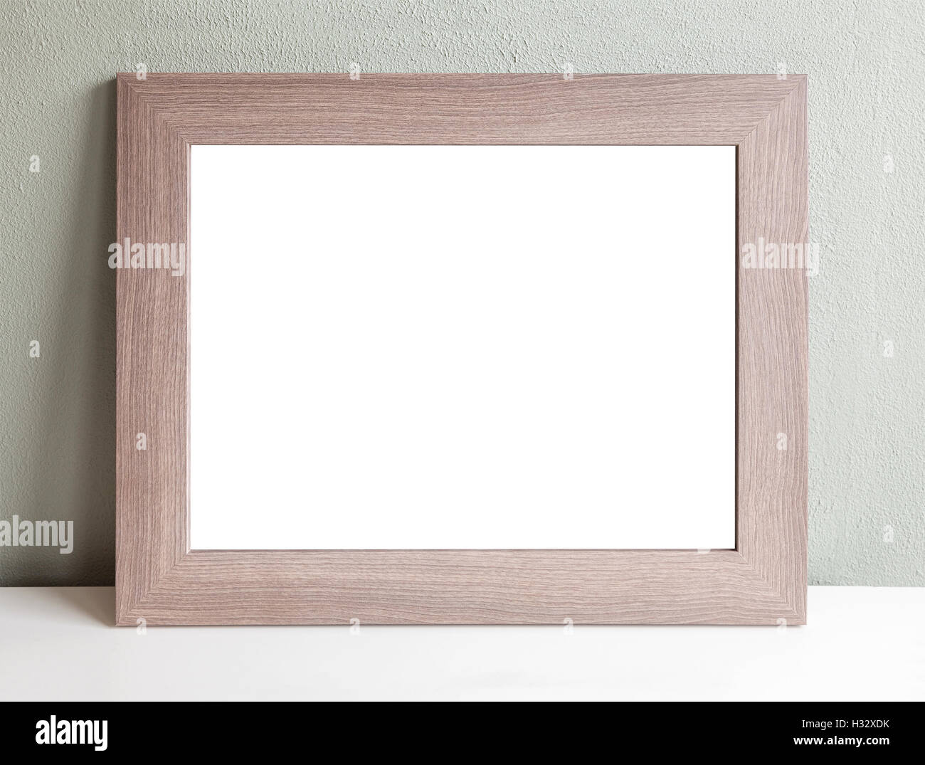 Wooden Picture Frame Large Stock Photos & Wooden Picture Frame Large ...