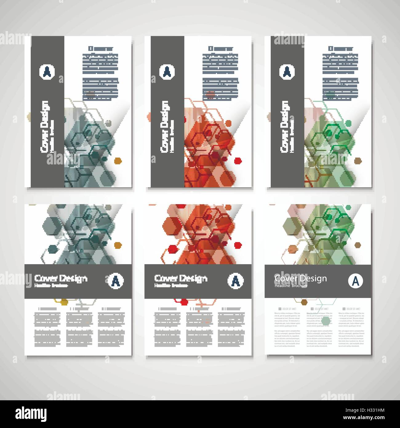 abstract cover design business brochure template layout annual