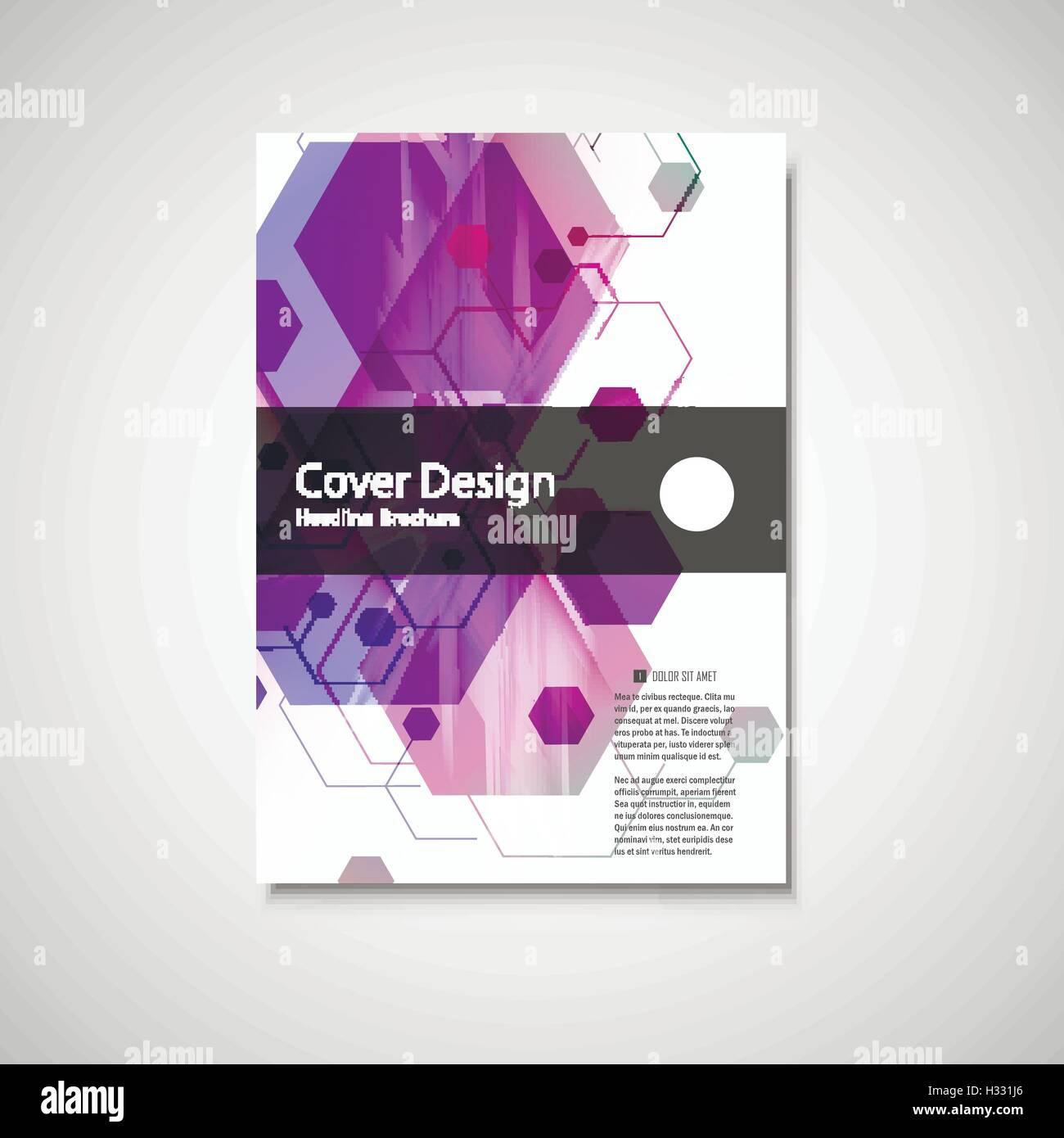 vector annual report leaflet brochure flyer template design book