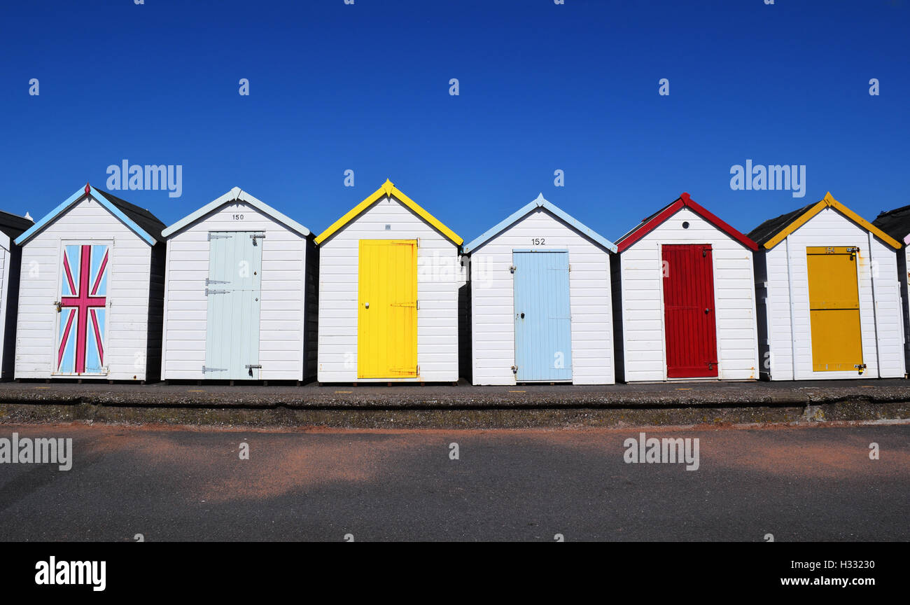 Who lives in a Beachhut like this - Stock Image