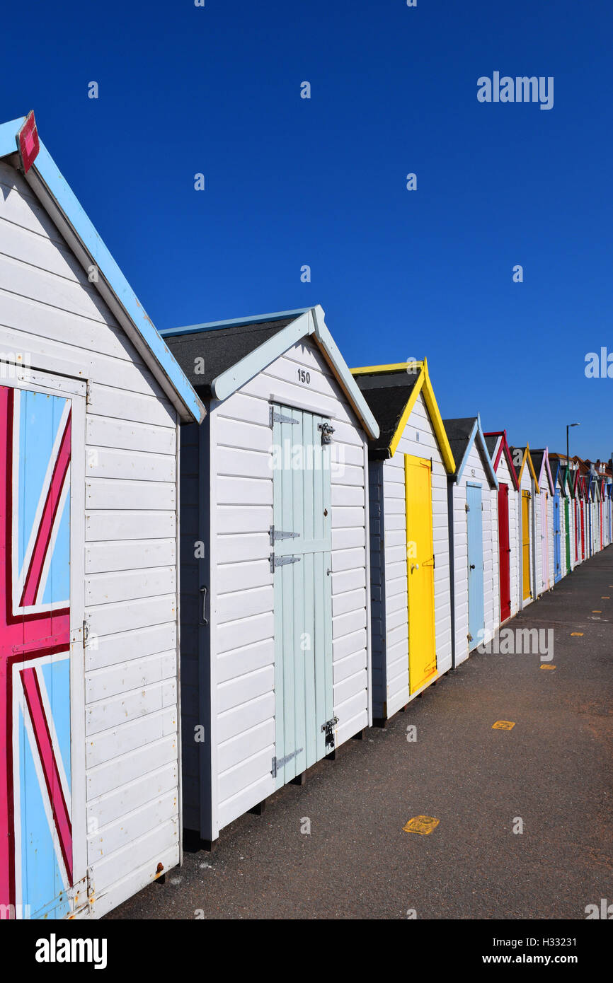 A typical English Seaside - Stock Image