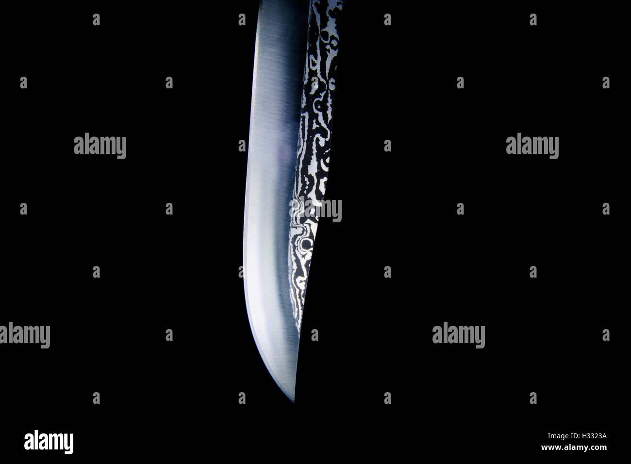 Knife blade - Stock Image