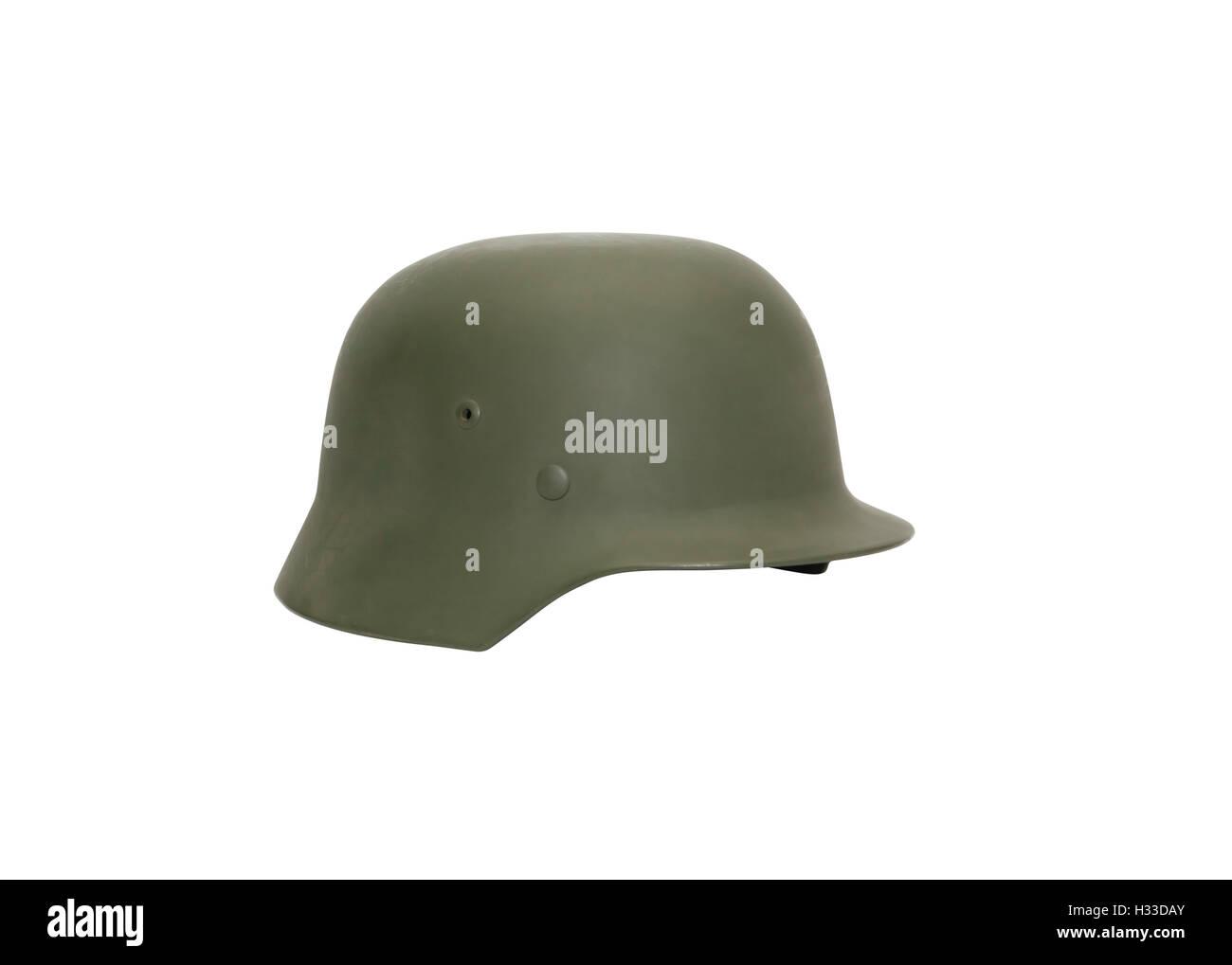German Military Helmet Stock Photo