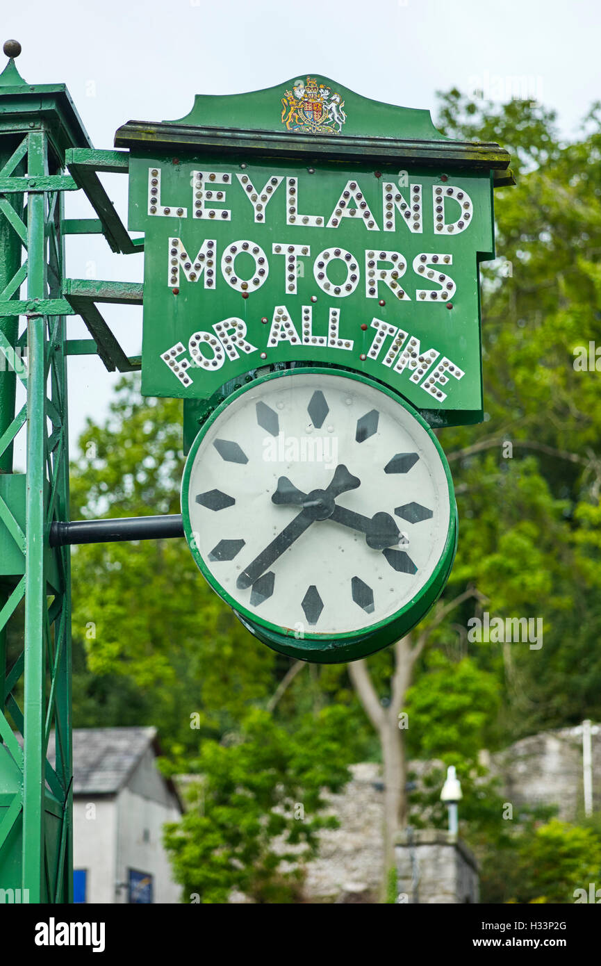Leyland Motors for all time clock - Stock Image