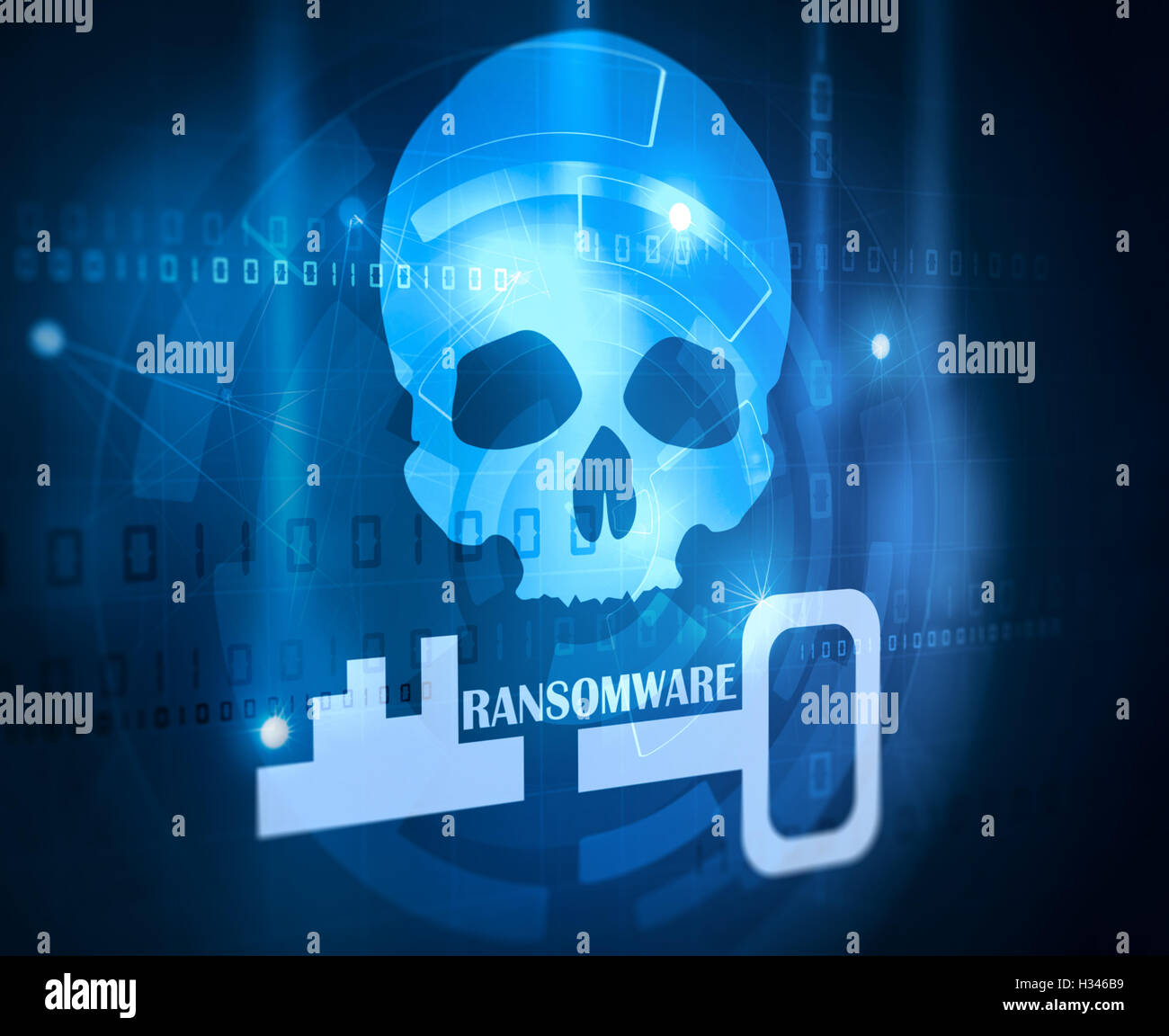 computer antivirus software - Stock Image