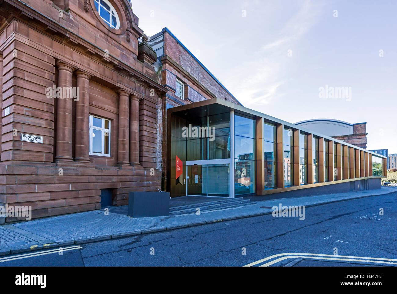 New Kelvin Hall extension on Burnhouse Road off Argyle Street in Glasgow Scotland - Stock Image