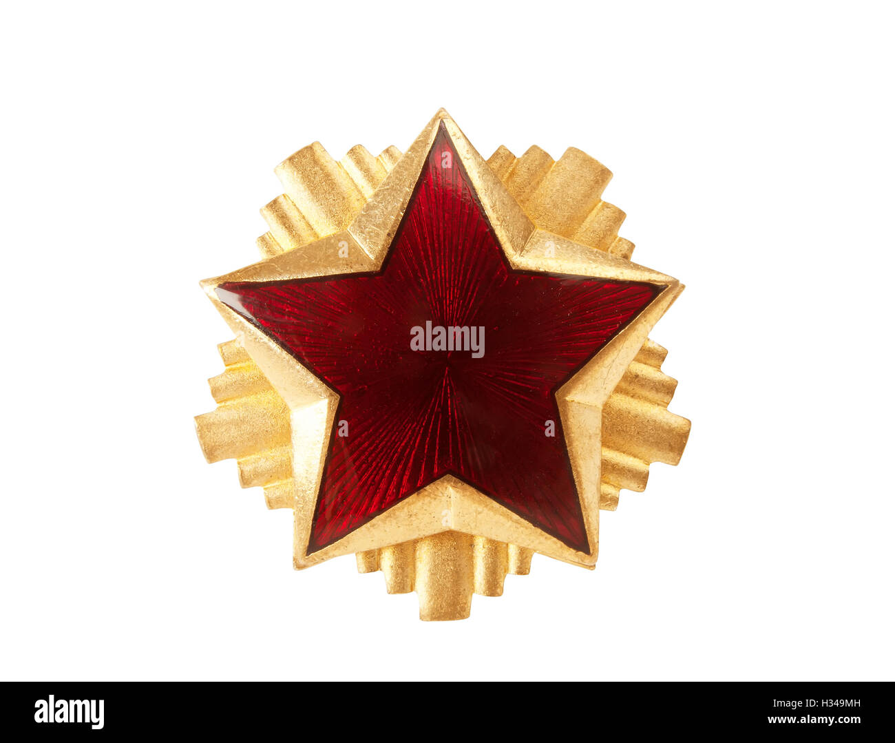 Red star - Stock Image
