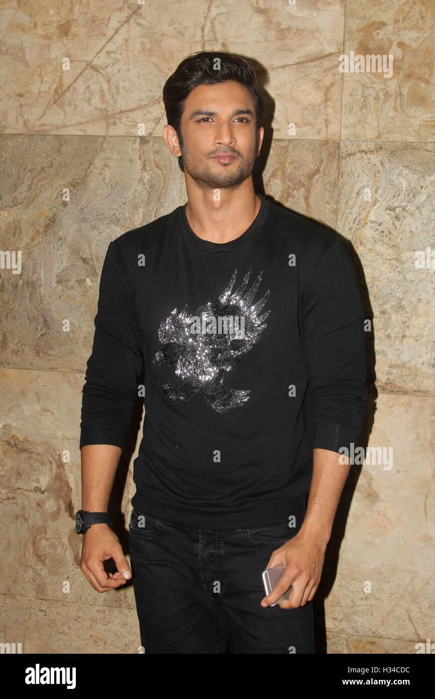 Bollywood Actor Sushant Singh Rajput Stock Photos