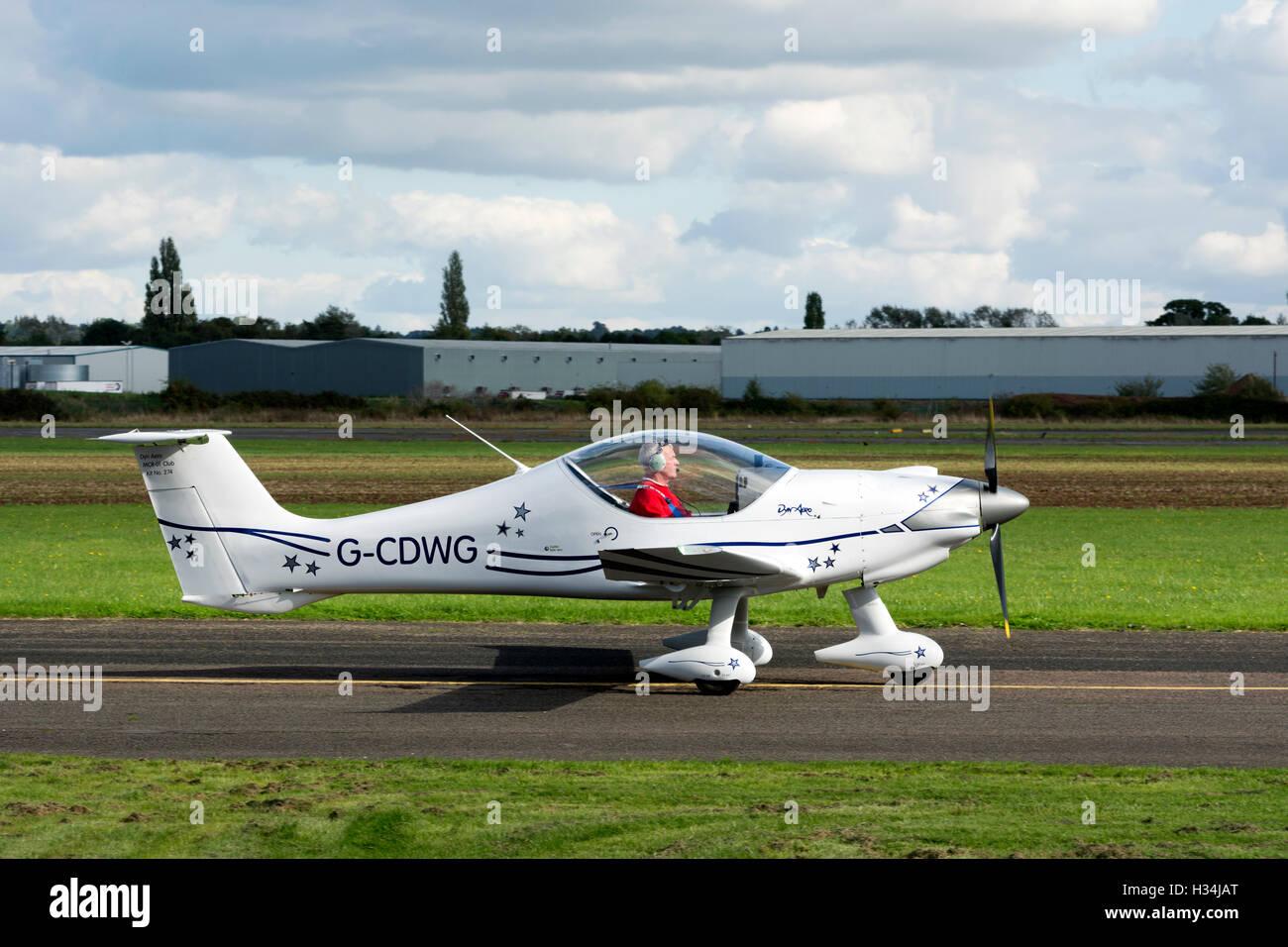 Dyn`Aero MCR-01 Club at Wellesbourne Airfield, Warwickshire, UK (G-CDWG) - Stock Image