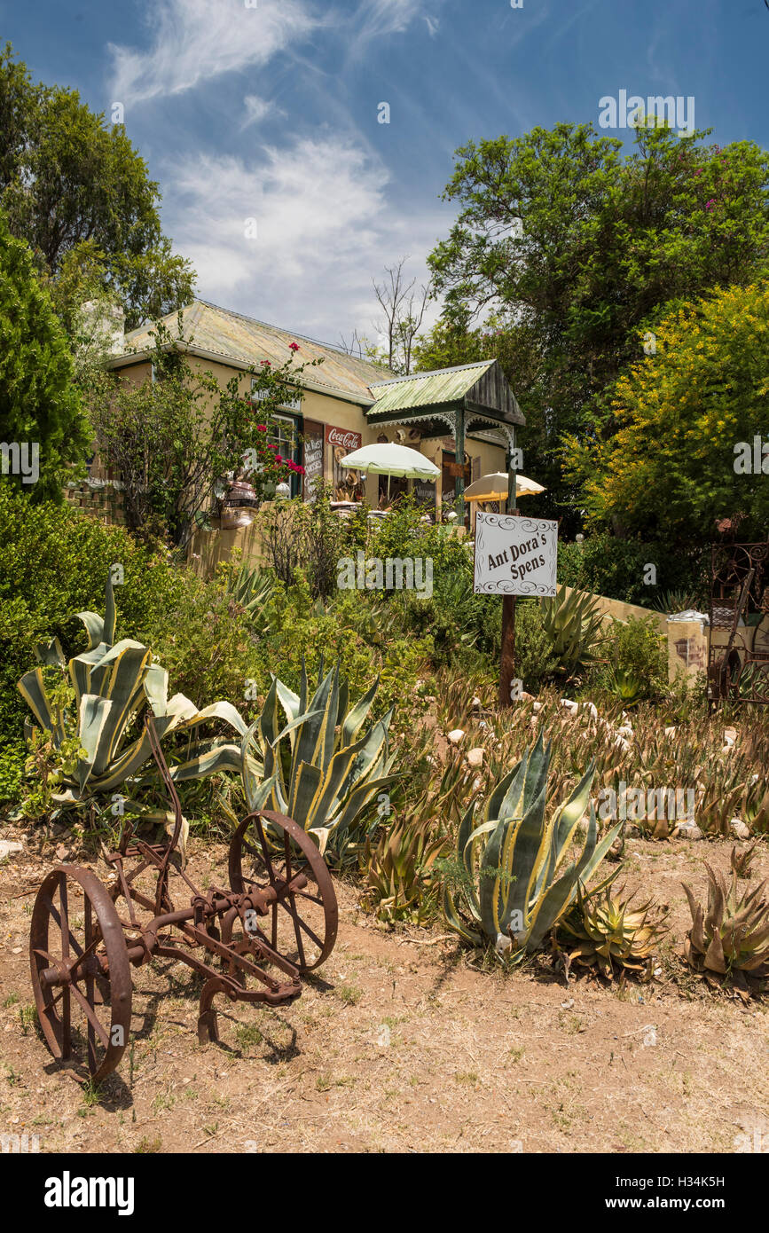 Art and Craft Shop in De Rust, Klein Karoo, South Africa - Stock Image