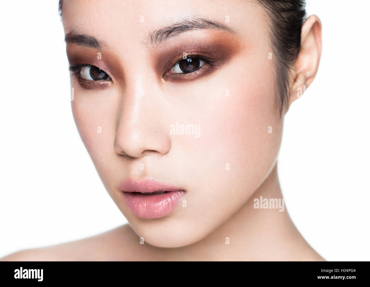 Cosmetics for asian women with